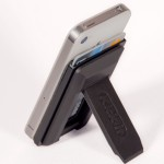 Mobile Wallet works with Kick it phone stand